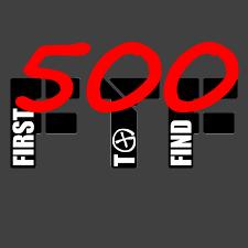 500 Caches gefunden (FTF noch dazu)