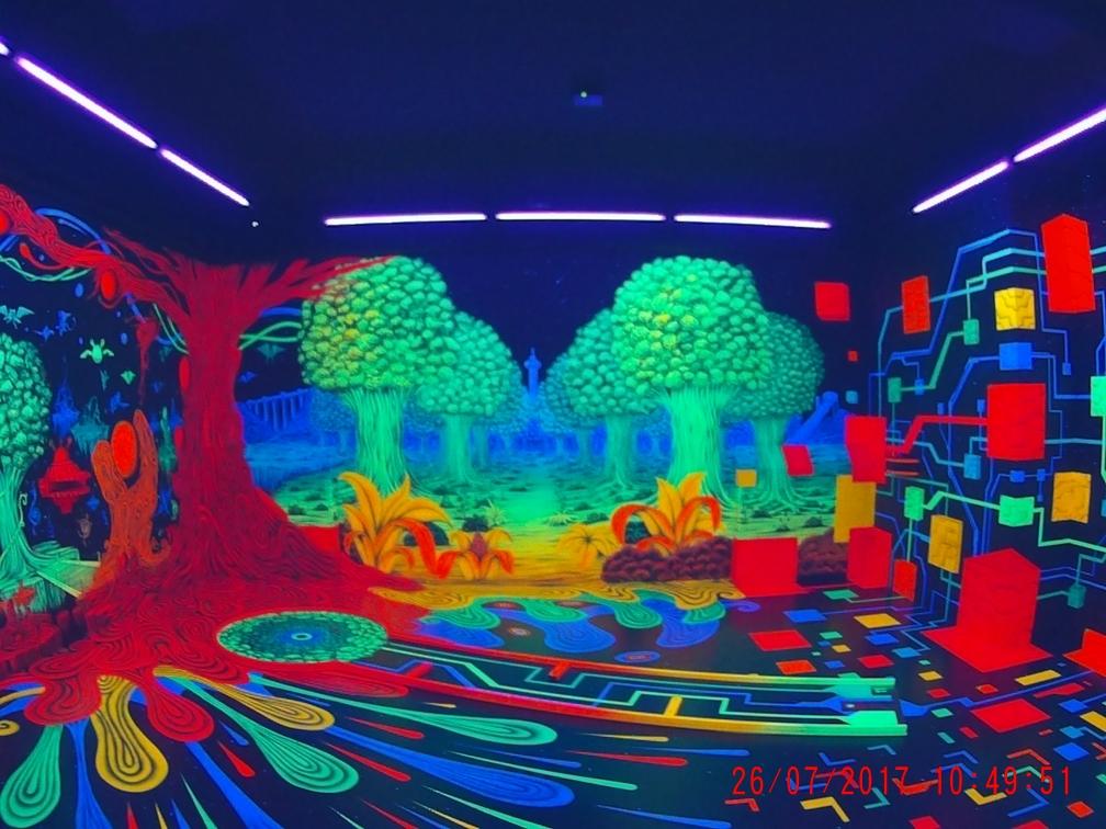 3D Mini-Golf besucht
